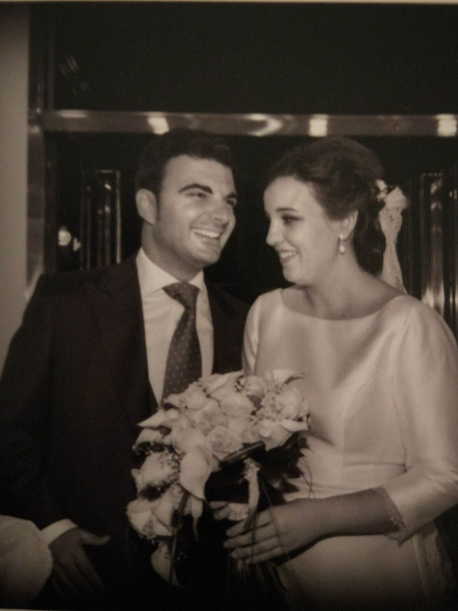 Boda Hinigio y Mª Carmen