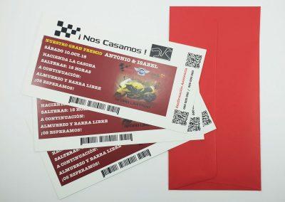 Invitación Circuito de Motos