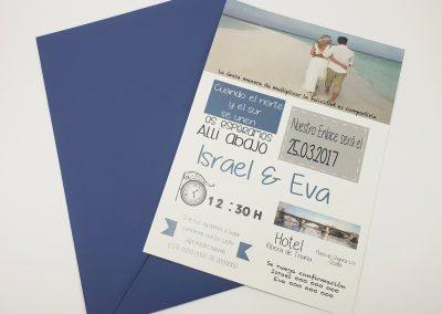 Invitación Playa
