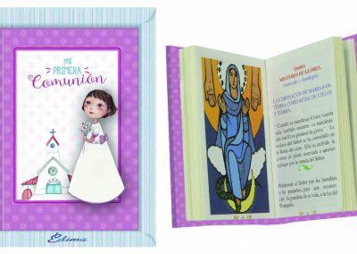 Pack Misal Mod. 844 Textos liturgicos, nuevas oraciones, 192 páginas a color, Rosario con los 20 misterios