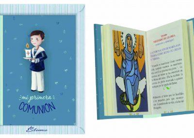 Pack Misal Mod. 847 Textos liturgicos, nuevas oraciones, 192 páginas a color, Rosario con los 20 misterios